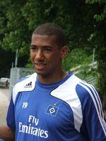 Boateng beim Training mit dem Hamburger SV (2009)