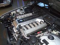 12-Zylinder-Wasserstoffverbrennungsmotor des BMW Hydrogen7