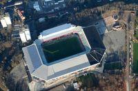 Luftaufnahme des Fritz-Walter-Stadions