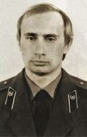 Putin in KGB-Uniform (ca. 1980)