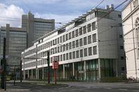 Das Landgericht Bonn, Gebäudeteil an der Oxfordstraße