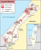 Gaza-Streifen Bild: UN Office for the Coordination of Humanitarian Affairs