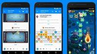 """""""Instant Games"""": wecken den Spieltrieb der Messenger-Nutzer. Bild: facebook.com"""