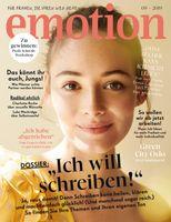 """Titelbild zu Ausgabe 09/2019. Bild: """"obs/EMOTION Verlag GmbH/Laura Palm"""""""