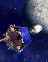 Seit Oktober 2009 gilt die Existenz von Wasser am Mond als sicher. Bild: NASA