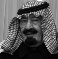 Abdullah ibn Abd al-Aziz (2007). Bild: Cherie A. Thurlby - dodmedia.osd.mil. Lizenziert unter Gemeinfrei über Wikimedia Commons