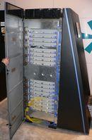 Blue Gene Watson (BGW) ist ein Supercomputer von IBM, der sich im Thomas J. Watson Research Center in Yorktown Heights, New York, befindet. Ein Schrank des Typs BlueGene/L, wie sie auch für Blue Gene Watson Verwendung finden.