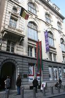 Straßenfassade, Rue de Minimes/Minimenstraat 21