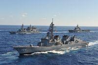 Kriegsschiffe (Symbolbild)
