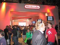 Der Stand von Nintendo war das Ziel vieler begeisterter Spieler.