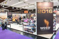 WECO Pyrotechnische Fabrik GmbH Stand auf der Nürnberger Spielwarenmesse 2016