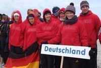 Das DLRG-Team in Warnemünde. BIld: Deutsche Lebens-Rettungs-Gesellschaft e.V. (DLRG)