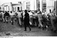 Häftlinge im Schutzhaftlager Dachau
