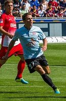 Nicolai Müller im Trikot des 1. FSV Mainz 05 (2013)