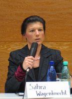 Sahra Wagenknecht (2008), Archivbild