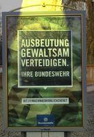 Bundeswehr Werbung: Äußerst beliebt bei kreativen Menschen (Symbolbild)