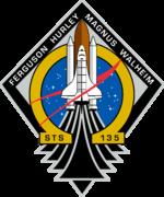 STS-135 (englisch Space Transportation System) ist die Bezeichnung für die letzte Mission des US-amerikanischen Space Shuttle der NASA. Bild: NASA