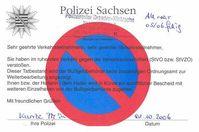 Verwarnung (Sachsen)