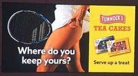 Wirbel um Werbeplakat von Tunnock's. Bild: twitter.com, choix