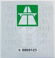 Schweiz Autobahn-Vignette