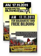Bildungsproteste im November 2011