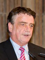 Michael Groschek auf dem Festakt zur 100. Geburtstag der GAG Immobilien im Historischen Rathaus von Köln