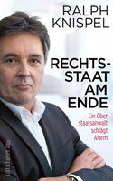 """Bild: Cover Buch """"Rechtsstaat am Ende"""""""