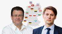 Stephan Brandner MdB und Dr. Götz Frömming MdB, AfD-Bundestagsfraktion (2019)