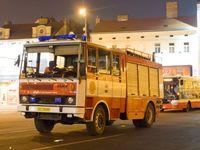 Tschechien: Feuerwehrfahrzeug in Prag