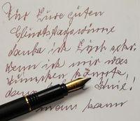 Alte Schrift: Unlesbarer Stil führt zu Vernunft. Bild: pixelio.de, W. Dirscherl
