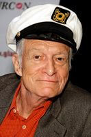 Hugh Hefner bei der Glamourcon #50 in Long Beach, Kalifornien (2010)