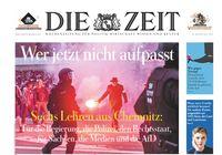 """DIE ZEIT 36/18. Bild: """"obs/DIE ZEIT"""""""