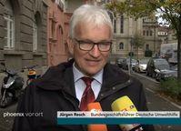 Jürgen Resch (2018): Als Bundesgeschäftsführer führt Herr Resch, mit Hilfe von Steuergeldern, gegen die Automobil- und andere Industriezweige Krieg.