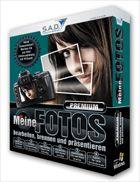 """Cover """"Meine Fotos bearbeiten, brennen und präsentieren - Premium"""""""