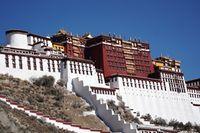 Potala Palast (Xinhua/Zhan Yan)  Bild: Kangri Tibetan Culture Research Fotograf: Zhan Yan