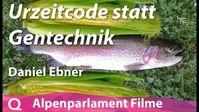 """Bild: Screenshot Video: """" Daniel Ebner: Urzeitcode statt Gentechnik"""" (https://www.bitchute.com/video/iIrmyOaIrimg/) / Eigenes Werk"""