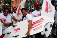 Sharkando 2: Promotion für den Film