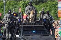 So werden friedliche Bürger eingeschüchtert. / Bild: Wikipedia/Collectorofinsignia Lizenz: CC BY-SA 3.0] / UM