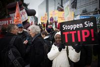 TTIP Bild:  campact, on Flickr CC BY-SA 2.0