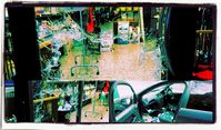 Geschäftseinbrüche und Pkw-Plünderungen in Ventimiglia Bild: UM / VoxNews / Eigenes Werk