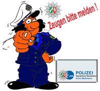 Symbolbild: Polizei sucht dringend nach Zeugen