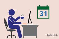Steuererklärung 2019: Ein halbes Jahr mehr Zeit zum Abgeben  Bild: Vereinigte Lohnsteuerhilfe e.V. - VLH Fotograf: VLH