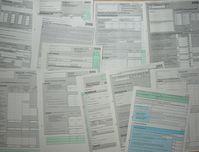 Steuererklärungen und -anträge, Steuerrecht (Symbolbild)