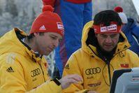 Werner Schuster (links). Bild: Karl Koch / ExtremNews