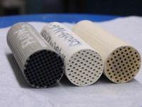 Klassische Dieselrußfilter aus Keramik lassen sich optimieren.