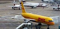 DHL-Frachtflugzeug Bild: Stahlkocher aus de.wikipedia.org