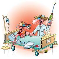 Impfen, Menschenversuch (Symbolbild)