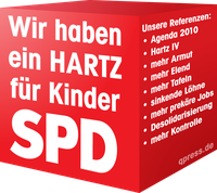 SPD: Bei der überwältigenden Mehrheit der Deutschen in der Kritik (Symbolbild)