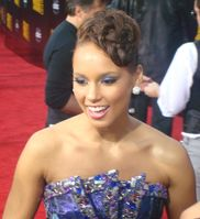 Alicia Keys bei den American Music Awards 2009