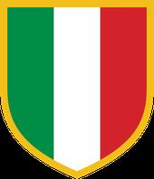 """Der """"Scudetto"""". Der Meistertitel der Serie A wird umgangssprachlich oftmals 'Scudetto' (ital. """"scudetto"""" = 'kleiner Schild'), nach der Plakette in italienischen Nationalfarben benannt, die der Meister in der Folgesaison auf dem Trikot tragen darf."""